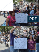 Signs from the #MarchaYoSoy132 anti Enrique Peña Nieto march in Mexico City
