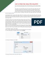Hướng dẫn cách cải thiện hiệu năng ổ đĩa cứng SATA