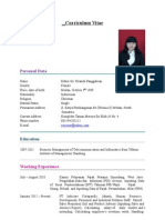 Esther's Resume Update