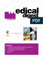 Medical Digest Jan-Mar 2012