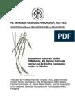 110128 Ukraine Holodomor Educators Curriculum