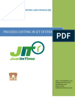 Process Costing in JIT Systems (Grp-7)