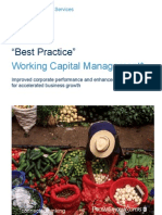 Best Practice Working Capital Management