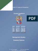 ICM Handbook Management Studies