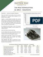 Dayton Way Newsletter - June 2012 - Graphite
