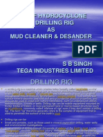 Use of Hydro Cyclone in Drilling Rig as Mud Cleaner