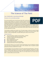 Living the Field Handout - The Science of the Field