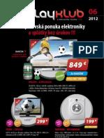 Leták Playklub 6/2012