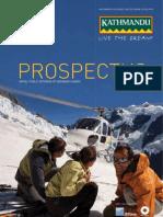 Kathmandu Prospectus