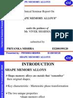 Shape Memory Alloys