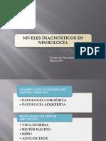 Niveles Diagnosticos en Neuro