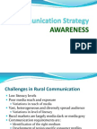 Rural Communication Strategy