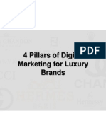 4 Pillars of Digital Marketing for Luxury Brands