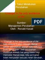 Perubahan by Renald Khasali