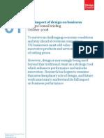 DesignCouncilBriefing01_TheImpactOfDesignOnBusiness