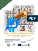 Boletín de Empleo y Formación Gran Vega Junio