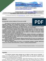 Boletin Nº 27 de la Comisión Exiliados Argentinos en Madrid.+ información en nuestra web