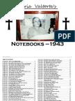 Divine Dictations to Maria Valtorta (1943 Notebooks)