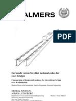 Design Girder Bridge Eurocode