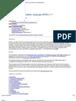 Web Service Definition Language (WSDL)