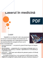 Laserul in Medicina