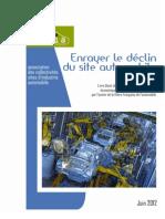 Enrayer le déclin du site automobile France