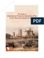 Role of IFIs in the Extractive Sector in Zambia