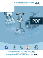 Microfinish Valves Inc – Best Valve Manufacturers.