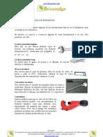 herramientas básicas para fontanería
