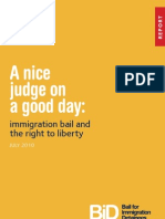 A Good Judge Report