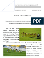 BI 16.06.2012 Pompierii Romani Campioni Europeni La Fotbal