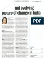 The Big and Evolving Picture of Change in India