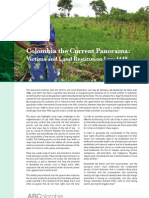 Colombia- the Current Panorama