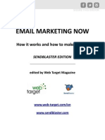 Email Marketing Now Sendblaster Edition