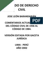 Tratado de Derecho Civil - 8 Tomos - Jose Leon Barandarian