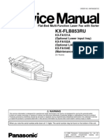 Panasonic KX-FLB853 Service Manual
