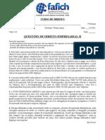 Questões Empresarial II (1)
