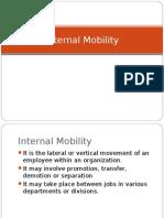 Internal Mobility