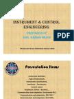 Instrument & Control Engineering