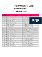 Torneio Benjamins 2012 Parede