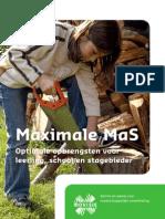 Publicatie Maximale MAS[1]