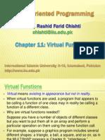 Ch11 Virtual Functions