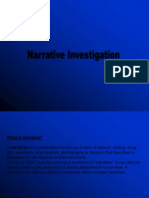 Narrative Investigation