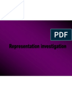 Representation Investigation
