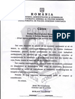 Politist care isi face datoria sanctionat la Constanta