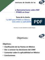 Javier Carreño_Presentacion conferencia NIIF para Pymes