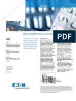 Eaton Filters Find the Cure for Antibiotics Manufacturer
