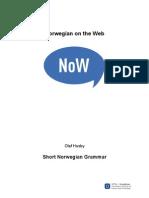 Short Grammar of Norwegian-NTNU
