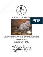 Galway Cat Rescue Auction Catalogue