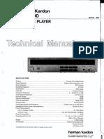 HarmanKardon HD500 CD